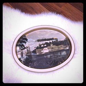 🦋2/$10 3/$15 4/$18 5/$20 Vintage Serving Tray